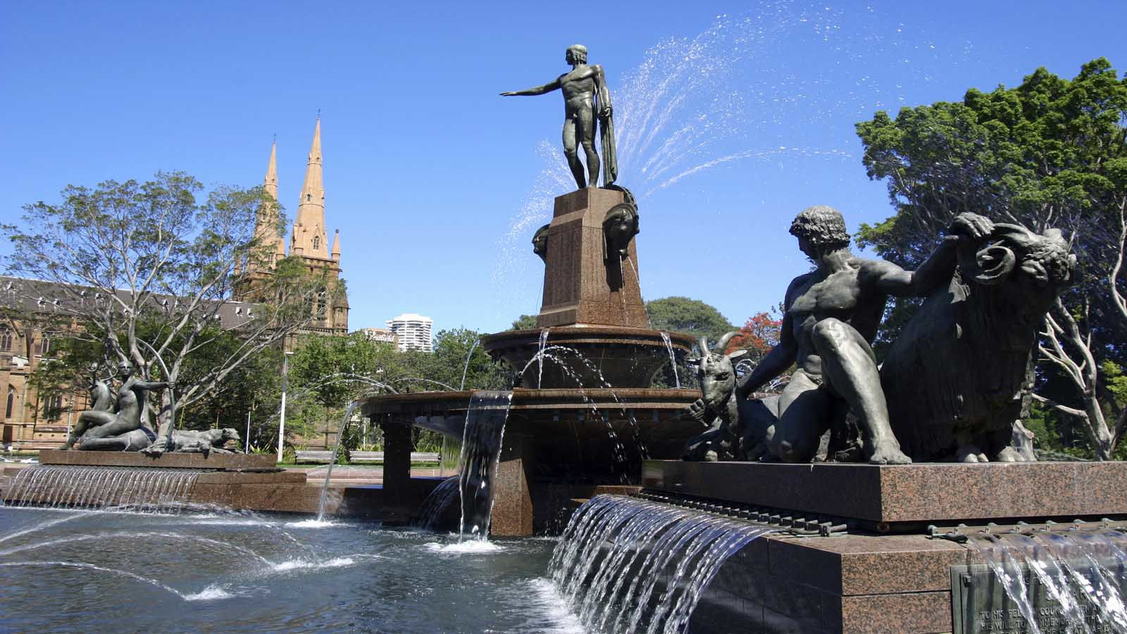 Archibald Fountain, Hyde Park Sydney